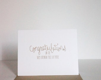 Funny Card, Graduation Card, Funny Graduation Card, Card for Grad, An Expensive Piece of Paper