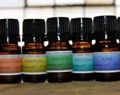 FULL SET of seven 5ml chakra oils