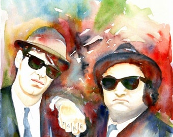 "Shop ""blues brothers"" in Painting"