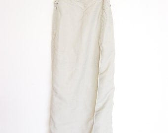 vintage long 90s sarong esprit skirt small