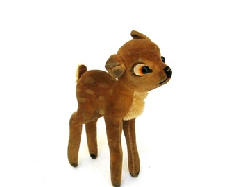 bambi  ....     the vintage steiff fawn  ...   deer