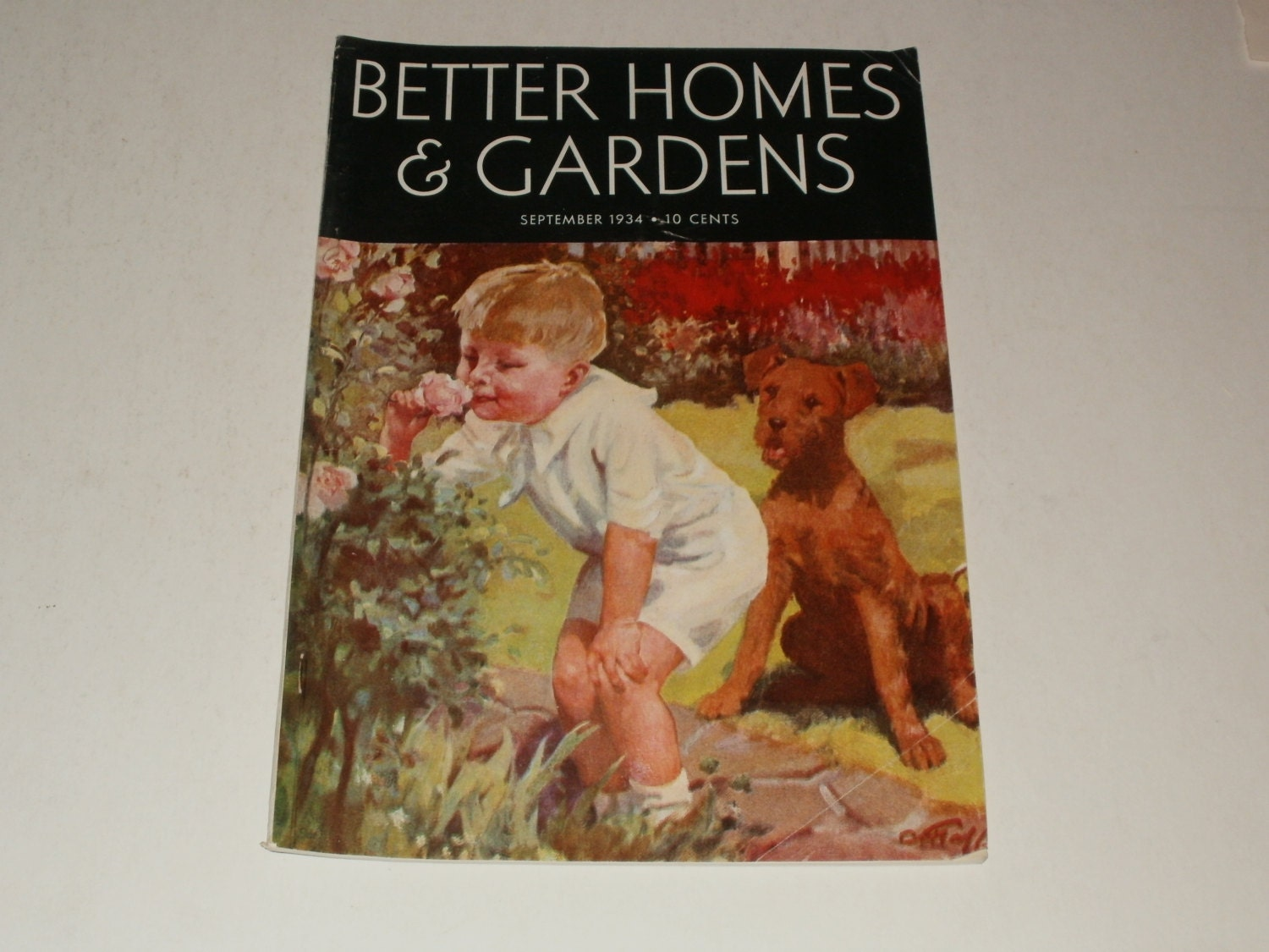Vintage Better Homes And Gardens Magazine By Kennyscrafts