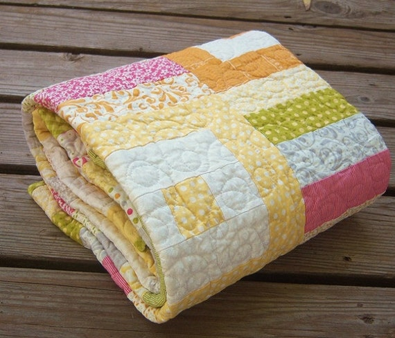 Baby Quilt Crib-Toddler - Sunkissed
