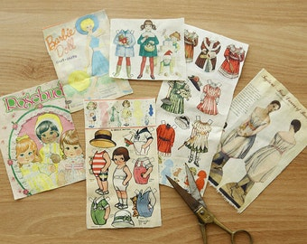 Lovely Doll Illus on linen blended 140cm, U6034