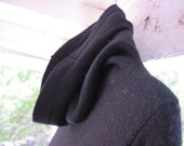Magnificent Vintage Mid-60s BONNIE CASHIN Design 100% Lambswool Dress with Madonna Hood (((Make Offer)))