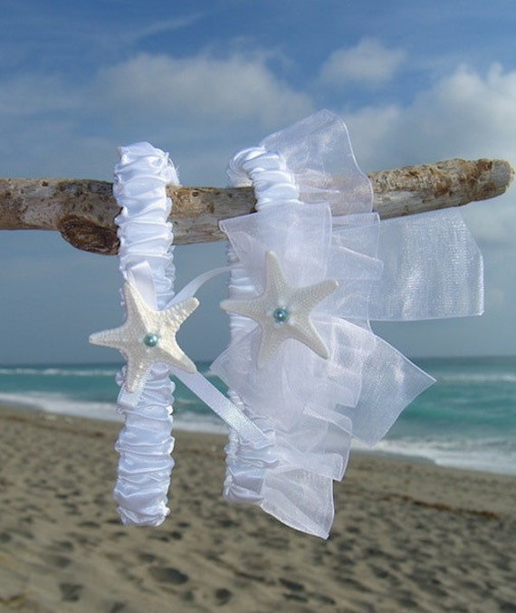 Beach Wedding Garter