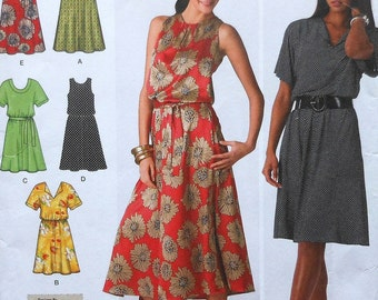 Summer Dress Sewing Pattern UNCUT Simplicity 2929 Sizes 20W-28W