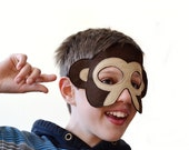 Monkey Children Mask Kids Costume Accessory, Dress up Toy Pretend Play for Girls Boys and Toddlers