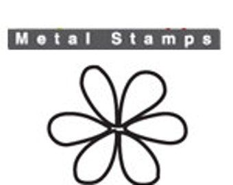 "WHIMSY FLOWER Metal STAMP Design 3mm 1/8"" by ImpressArt Jewellery Steel Punch Metal Marking Craft Jewelry Making Tool Florals"