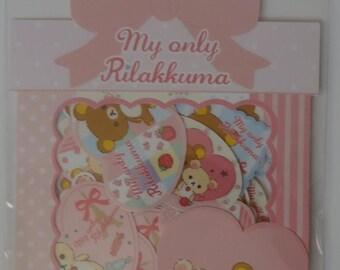 San-X My Only Rilakkuma Sticker Sack - A