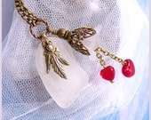 Sea Glass - Hearts Galore Washed Ashore - Necklace  DC 8528