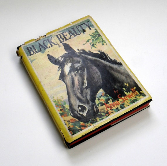 Sale // Black Beauty by Anna Sewell1948 / Whitman Classic Series