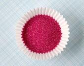 Raspberry Sanding Sugar, Raspberry Pink Sanding Sugar, Raspberry Sugar Sprinkles (4 ounces)