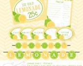 Lemonade Stand 2 Printable Set