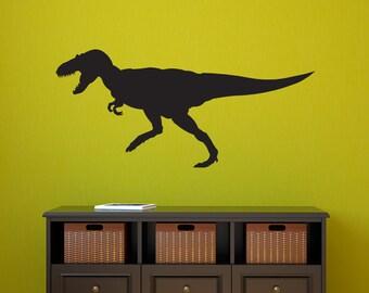 Dinosaur Wall Decal - Tyrannosaurus Rex Wall Sticker - T Rex Wall Art