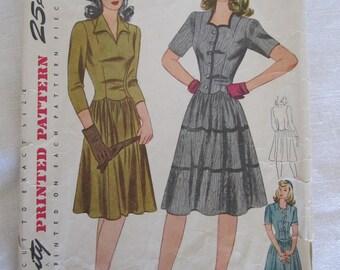 1950s Dress Pattern Etsy