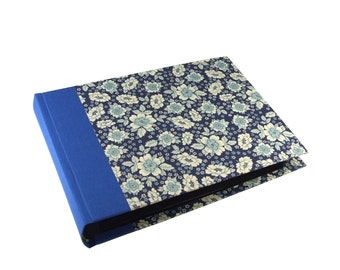 blue floral Photo Album English Flower, 6x8 inch wedding album, family album