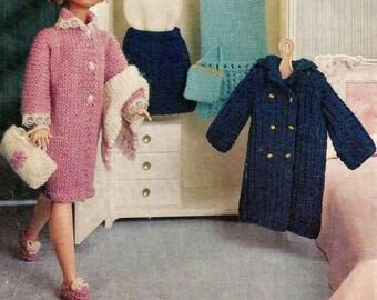 Knitting PATTERN for Tammy Doll Sindy Tressy Spa Wardrobe