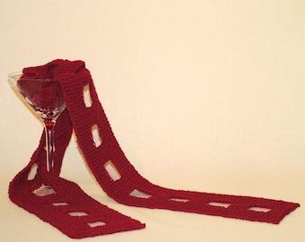PDF Knitting Pattern Cosmopolitan Scarf (Instant Download)