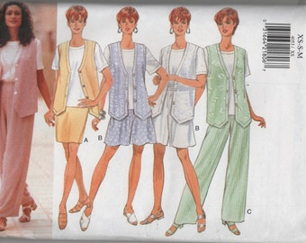 Butterick Misses Wardrobe Sewing pattern 4053 Summer Separates