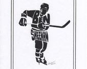 Personalized Sport  Figure - Hockey
