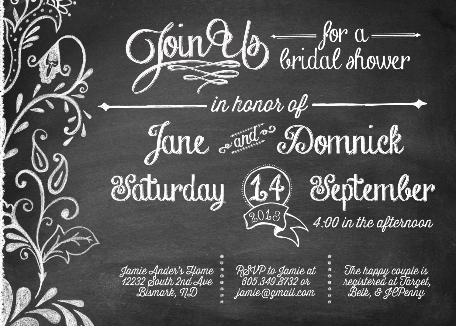 Disney Bridal Shower Invitations was perfect invitations layout