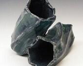 Bud Vase Set in Shades of Blue