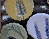 Oregon Lavender Magnets set of 3 - gold, white, avocado