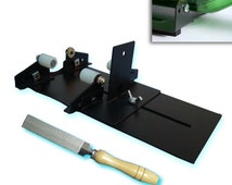 GLS-410, KENT 2 pcs Set of Bottle Cutter Machine and Super Fine Diamond Coated File