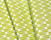 Organic Cotton Fabric-monaluna -Modern Home- little leaves - low shipping