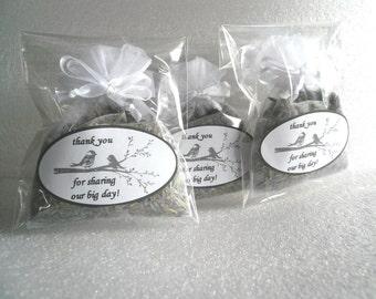Organic Lavender Sachet with custom label