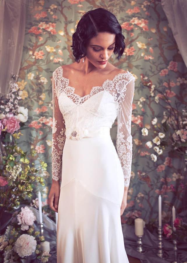 1920 39 s inspired wedding dresses for 1920s inspired wedding dresses