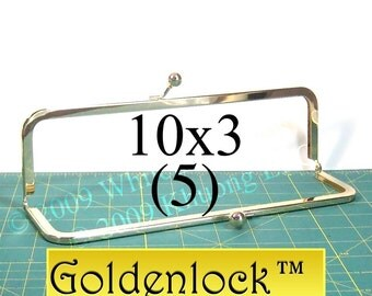 10% OFF 5 Goldenlock(TM) 10x3 purse frame