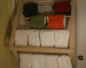 Diaper Drying rack. fold up  free shipping USA only