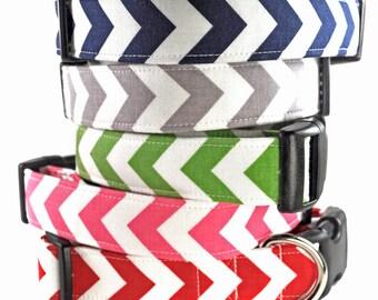 Chevrons - Dog Collar