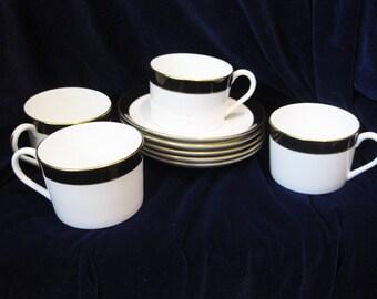 Coalport China Tea Cups & Saucers England(10 pcs)