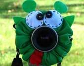 custom large ALIEN Lens Pet for your camera