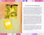 Pensieri Art Zine - Issue 01 - Art Journaling (Digital PDF)