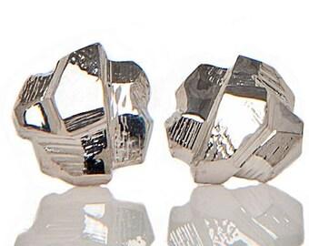 Rock Crystal Sterling Earrings
