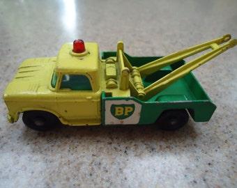 Vintage Lesney Matchbox Dodge Wrecker Truck No 13d