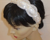 Bridal Headpiece, JENELLE, Crystal Headpiece, Wedding Headpiece, Bridal Headband - BellaCescaBoutique