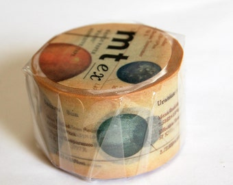 Mt washi tape solar system 30mm 10M