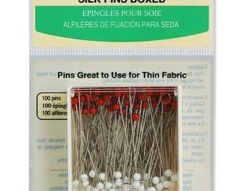 Clover Silk Pins Boxed Part No. 2501