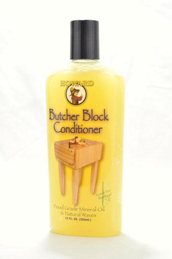 Howard Butcher Block Conditioner Cutting Board Oil