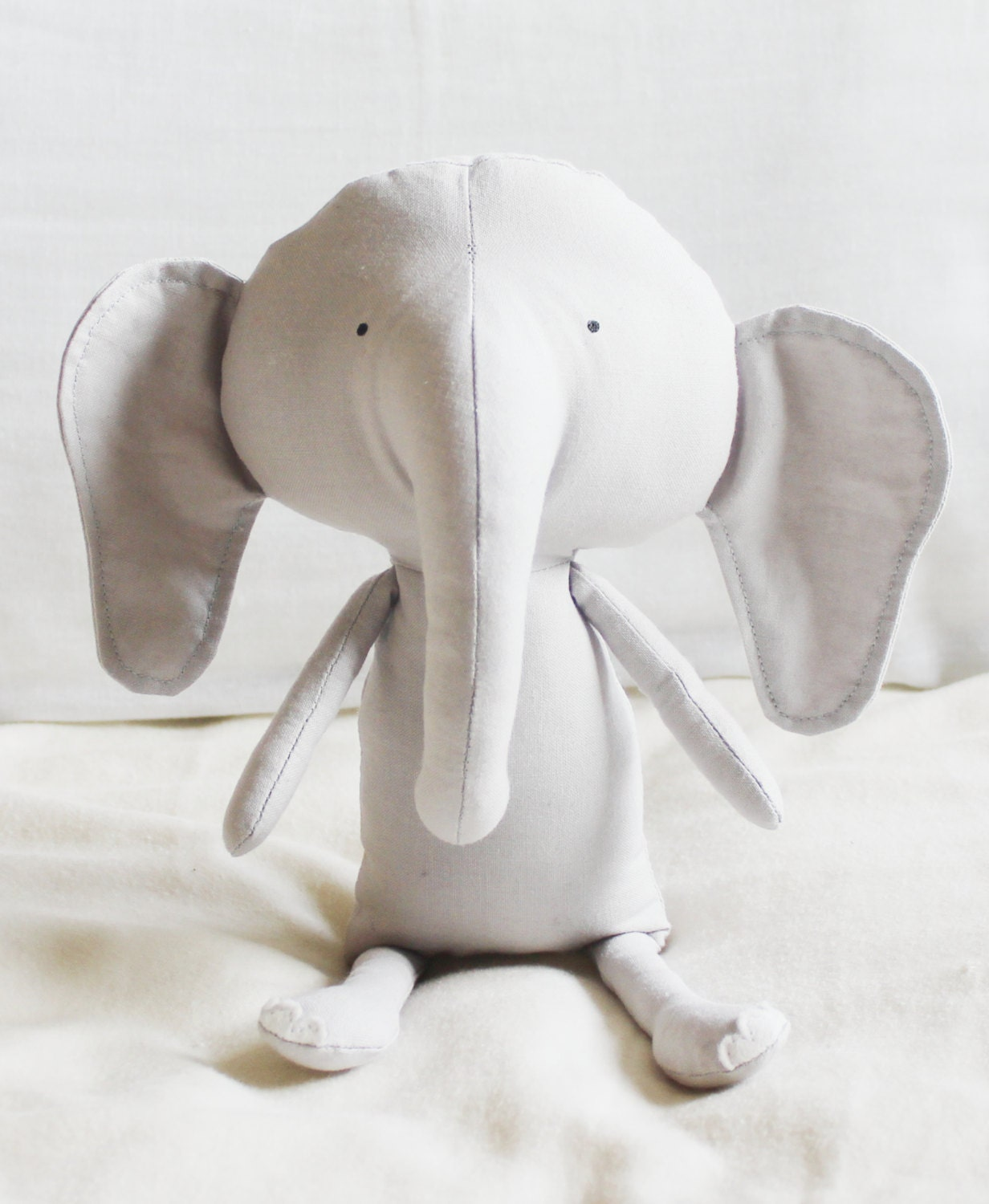 Elephant Template For Sewing Elephant Sewing Pattern Softie