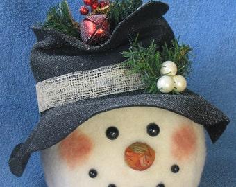 """Snowman pattern:  """"Frosty"""" - #440"""