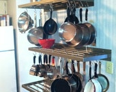Wall Mount Pot and Pan Rack