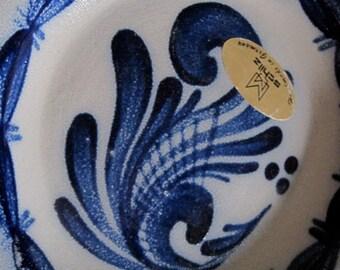 Schilz salt glazed plate made in Germany