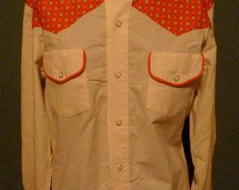 Cowboy Up - Vintage Western Shirt