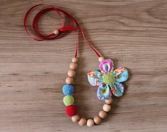 Mom's Nursing Necklace / Teething necklace / Babywearing Necklace